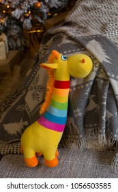 a great children's toy. soft toy giraffe