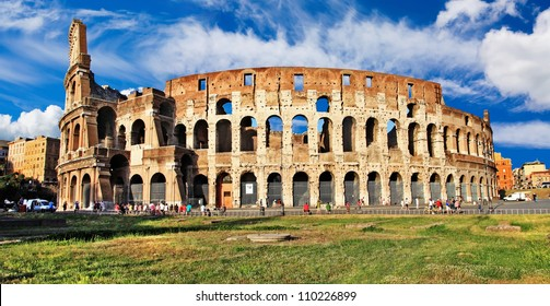 great Colosseum, italian landmarks series