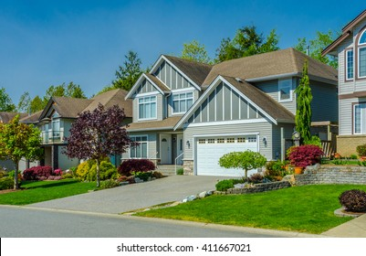 Great and comfortable  neighborhood in suburbs of Vancouver, Canada.