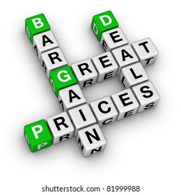 great deals and bargain prices