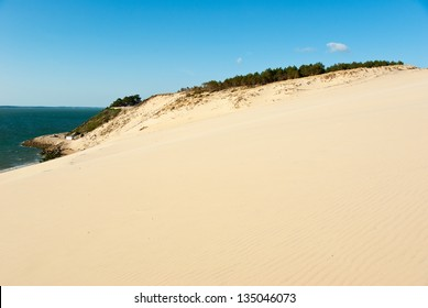 The Great Dune of Pyla and Arcachon Bay, France