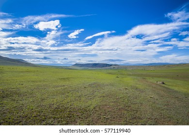 The great expanses of the Asian steppe is located in Buryatia.