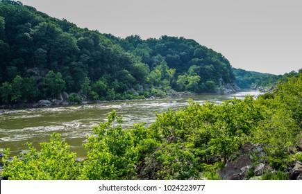 Great Falls Mountain Landscape