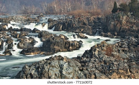 Great Falls Park Rapids Views/Potomac River