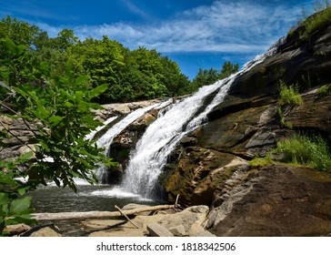 Great Falls Waterfall , Falls Village