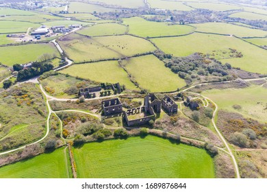 The Great Flat Lode near Four Lanes, Redruth, Cornwall - Shutterstock ID 1689876844
