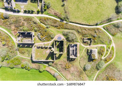 The Great Flat Lode near Four Lanes, Redruth, Cornwall - Shutterstock ID 1689876847