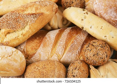 great fresh italian bread background