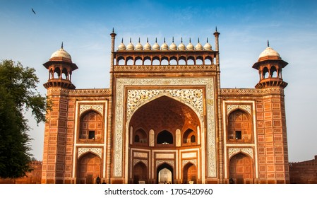 The Great gate in Taj Mahal clickked in 2019 in North INDIA