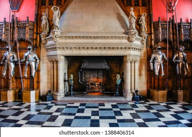 The great hall at the castle of Edinburgh