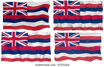 Great Image of the Flag of hawaii