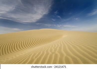 great indian desert near Jaisalmer, India