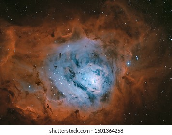 Great Lagoon Nebula in Sagittarius, Messier 8