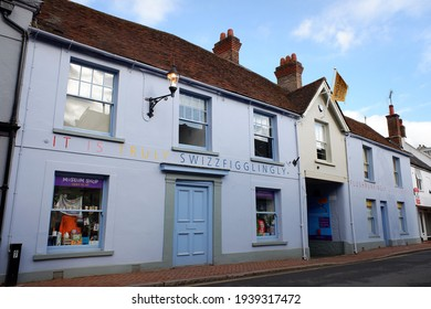 Great Missenden, Buckinghamshire, England, UK - March 19th 2021: The Roald Dahl Museum and Story Centre, 81 to 83 High Street, Great Missenden