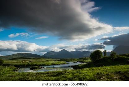 Great Moor Of Rannoch, Scotland highlands