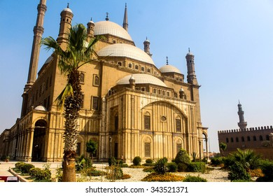 The Great Mosque of Mohammad Ali in the Citadel of Cairo