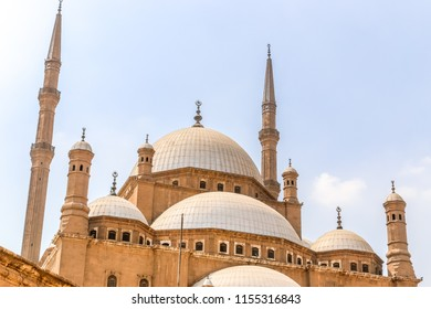 The Great Mosque of Muhammad Ali Pasha or Alabaster Mosque is a mosque situated in the Citadel of Cairo in Egypt and commissioned by Muhammad Ali Pasha.