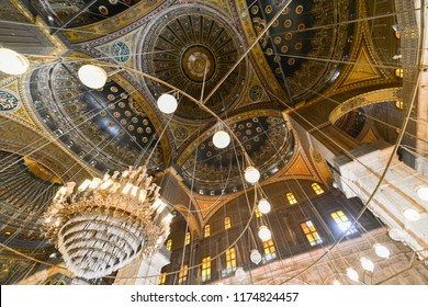 The Great Mosque of Muhammad Ali Pasha or Alabaster Mosque - Cairo, Egypt
