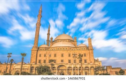The great Mosque of Muhammad Ali Pasha - Cairo