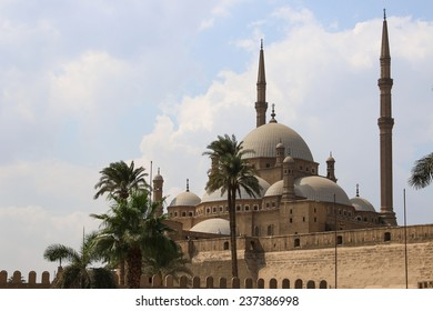 The great Mosque of Muhammad Ali Pasha or Alabaster Mosque. Egypt.