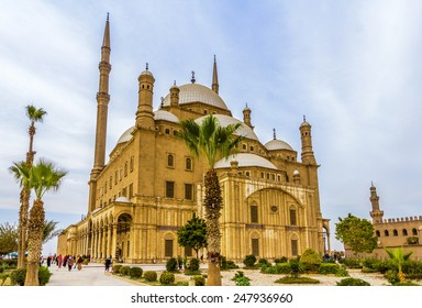 The great Mosque of Muhammad Ali Pasha in Cairo - Egypt
