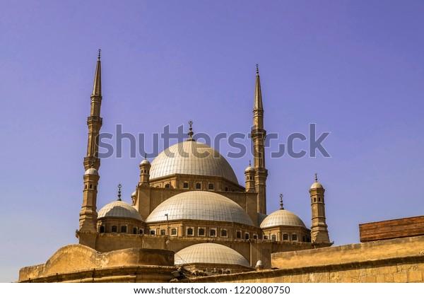 Great Mosque Muhammad Ali Pasha Alabaster Buildings