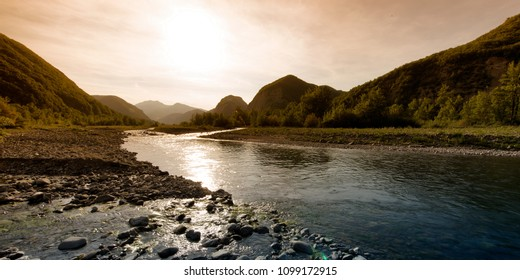 great mountain river