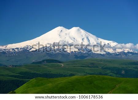 Great nature mountain range