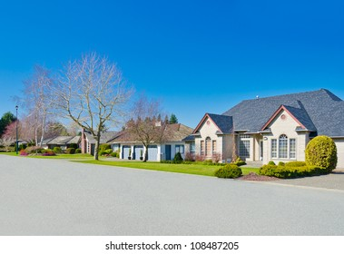 Great neighborhood in suburbs of Vancouver ( Surrey ) Canada.