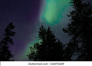 Great Northern Lights in Yellowknife, Northwest Territories, Canada