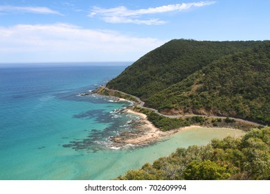 The Great Ocean Road, Australian National Heritage listed, along the south-eastern coast, close to Victorian cities, tourist attraction