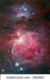 Great Orion nebular complex