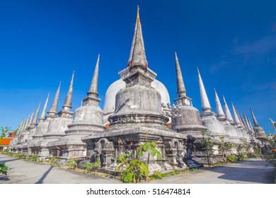 Great Pagoda in Nakhon Si Thammarat, Thailand. Wat Pramahathat Nakhon Si Thammarat, Thailand