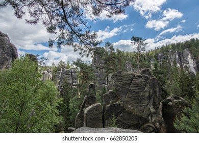 The great panorama in Adrspach - Teplice rocks