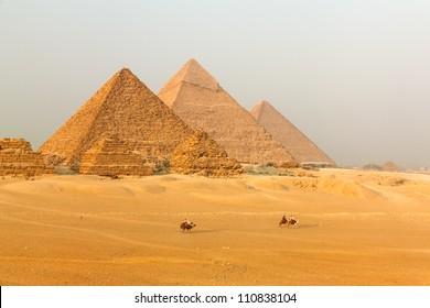 Great Pyramid of Giza. Egypt.