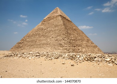 Great pyramids at Egypt