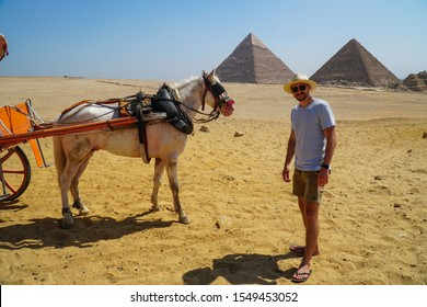 The Great Pyramids of Giza, Egypt