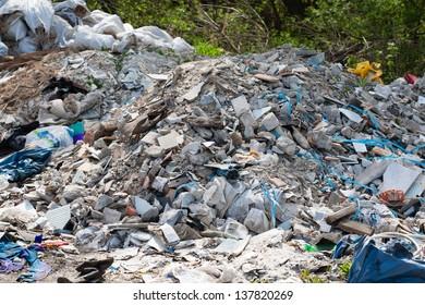 great rubbish heap. environment