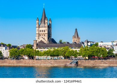Great Saint Martin Church is a Romanesque Catholic church in Cologne, Germany