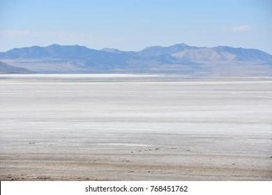 Great Salt Lake State Park at Antelope Island in Utah