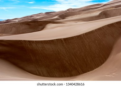Great Sand Dunes National Park and Preserve, Colorado Nature and Landscape, Hiking and Camping Outdoors