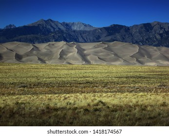 Great Sand Dunes National Park in Southern Colorado, USA