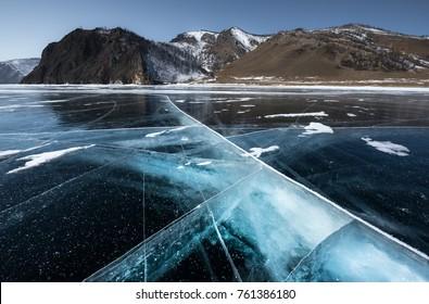 The Great Sea Transparent at Lake Baikal, Siberia, Russia