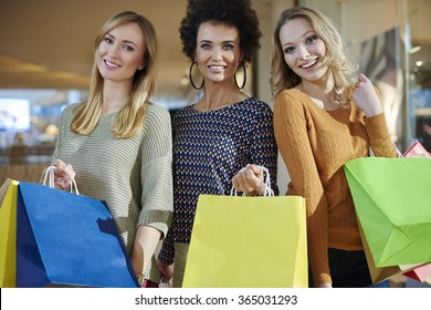 Great shopping on the sunny day