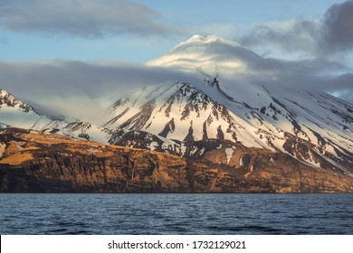 Great Sitkin Volcano in the Aleutian Chain of Alaska