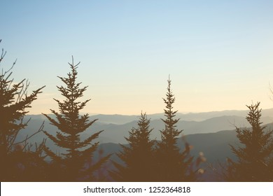The Great Smoky Mountains, at Knoxville Tennessee, USA