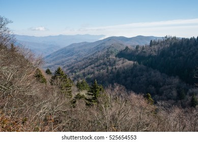 Great Smoky Mountains National Park in late fall