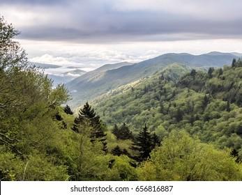 Great Smoky Mountains in North Carolina, US