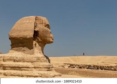 Great Sphinx of Giza, pyramid complex