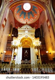 The Great Synagogue, Dohany Street Synagogue, in Budapest in Hungary, it is the largest Judaism Temple in Europe, and a centre ofNeolog Judaism. 2017-6